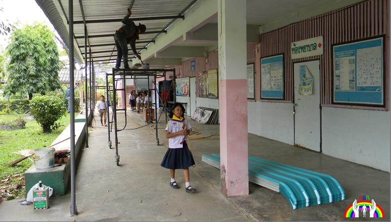 Schul Restauration nach Bedarf RGR