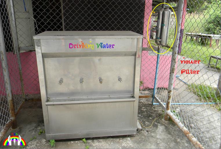 Trinkwasser für Schule RGR