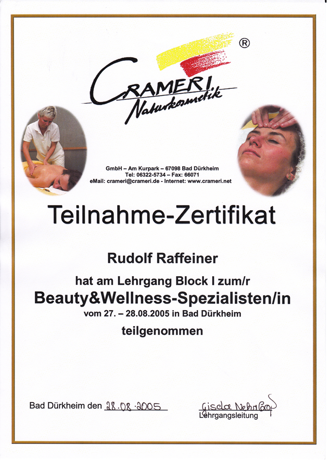 Beauty + Wellness Dekret Rudy RGR