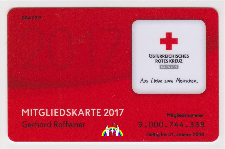 Member Card Gery 2017 RGR