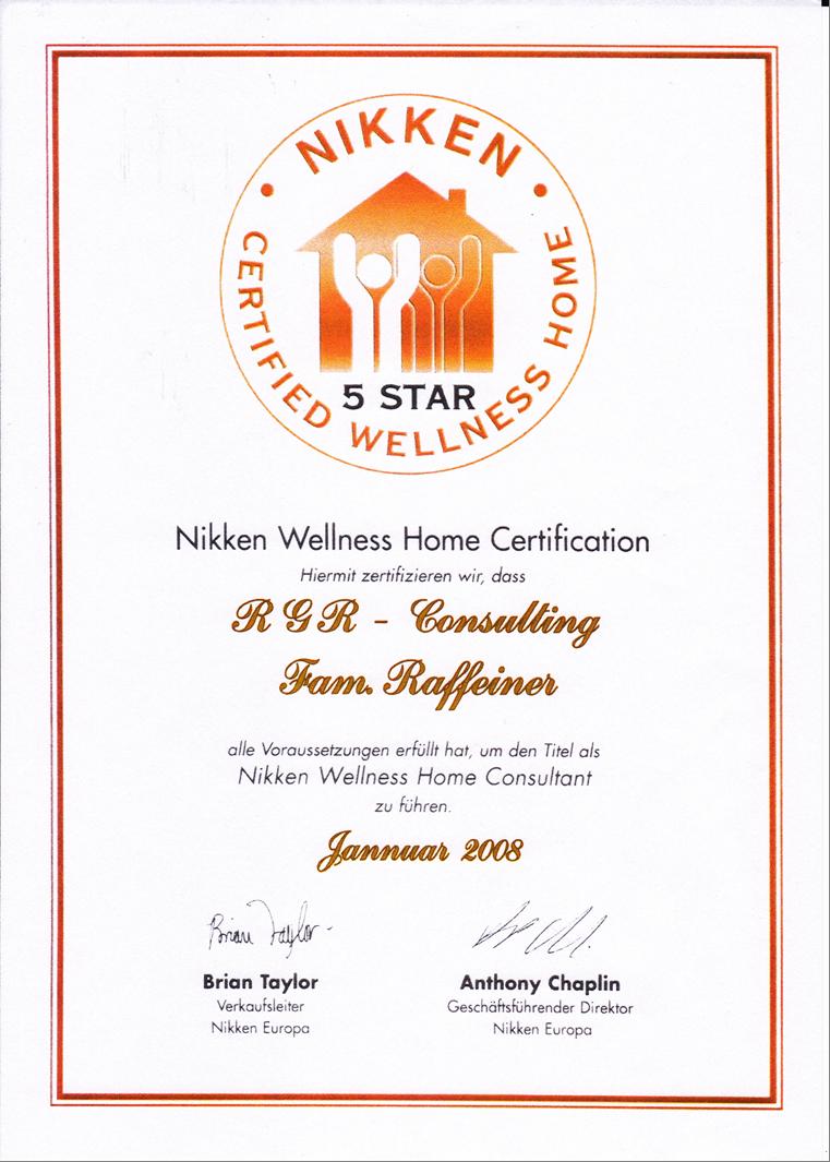Nikken Wellness Home Dekret RGR