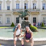 1 Rudy & Gery im Schlossgarten Mirabell Slzbg 20.5.2011 RGR