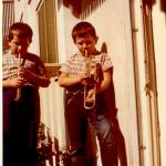 16 Gery spielt Trompete Rudy Posaune RGR