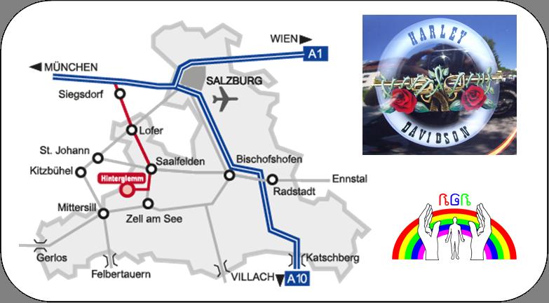 2 Anfahrtskarte Saalbach Hinterglemm RGR