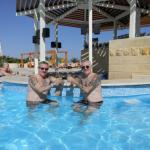 2 Gery & Rudy an der Poolbar in Hurghada Ägypten RGR