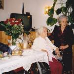 2 - Jubilar Ploner Maria mit Mama Anna Raffeiner RGR