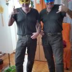 21 Rudy & Gery im Fasching bei Biene 2016 RGR