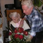 3 - Papa Rudolf Raffeiner Sen. mit Schwester Ploner Maria RGR