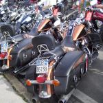 Defilierung von Bikes RGR