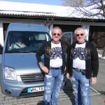 8 Rudy & Gery mit Karl Heinz bei Ausfahrt 03.03.2013 RGR