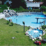 Bauphase 1 Schwimmteich + Gartenanlage Betreutes Wohnen RGR