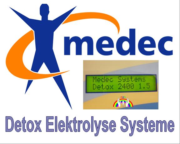 Detox Elektrolyse Systeme für RGR