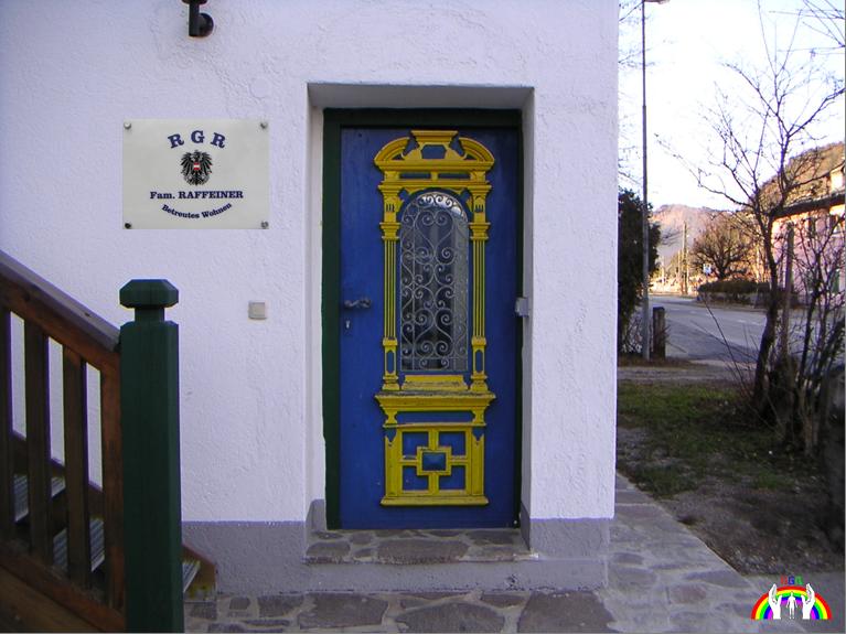Eingangsportal Betreutes Wohnen in Hochfilzen von RGR
