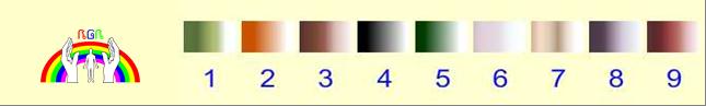 Fußbad Farb Teststreifen RGR