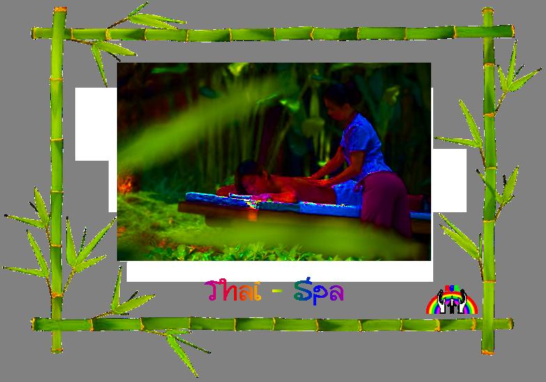 Logo Thai Spa transparent von RGR