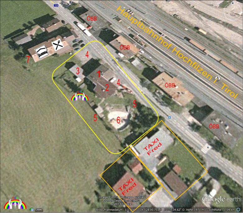 Luftbild für Hochfilzen Betreutes Wohnen RGR