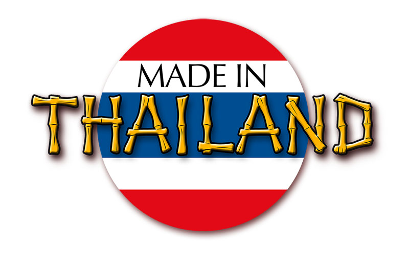 Made in Thailand Logo für RGR
