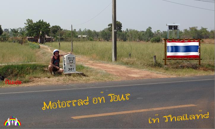 Motorrad on Tour in Thailand mit Rudy RGR