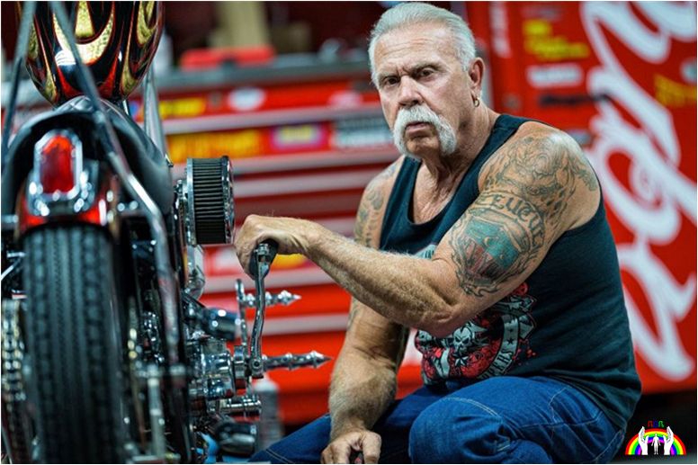 Paul Teutul Sr. am Bike RGR