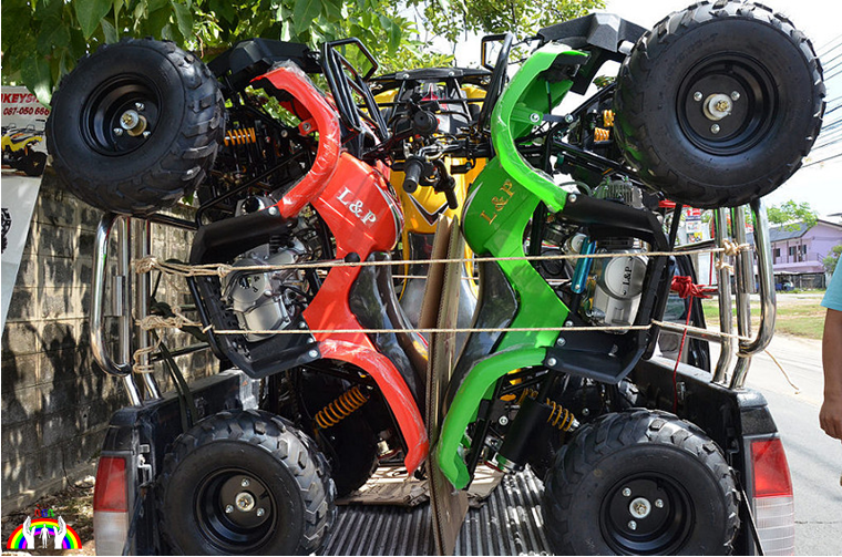 Quellenfoto Quad Transport in Thailand RGR