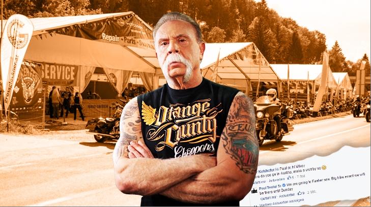 Quellenfoto für RGR Paul Teutel Sr. beim Harley Village in Faak am See