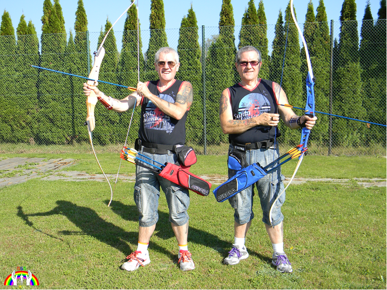 Rudy & Gery am Bogensportplatz RGR