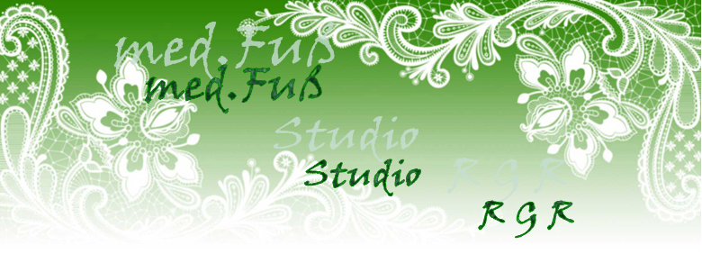 Türschild med. Fuß Studio Tirol RGR