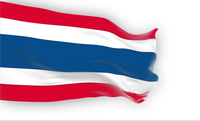 Thai Flagge Quellfoto für RGR