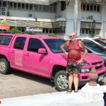 39 Rudy am Crew Fahrzeug in Yasothon RGR