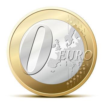 0 Euro Logo RGR